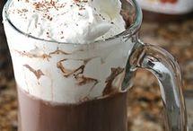 Hot drinks, iced treats
