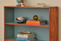 Mid Century Retro Styling / I love the clean shapes created by mid century furniture and the colours too.