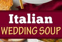italian wedding menu main meal