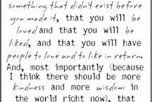 Quotes / by Karen Slasinski