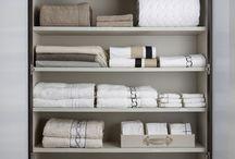Organização de guarda-roupa