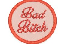 P... is for Pins & Patches