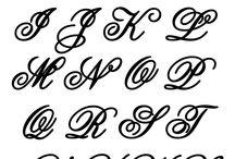 písmená