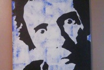 My Canvas's / Handpainted canvas's in a range of themes, Art, Music, Cult Films, Pop Art. Bespoke orders can be commissioned. https://www.facebook.com/pages/Jens-Canvas-Art/525202324162686?ref=hl / by Jen Hughes
