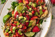 summer flavors // strawberries