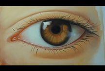 olhos passo a passo