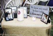 Wedding Decor {In Memory}