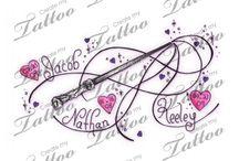 Tattoo/Piercings / by Christin Kaminski