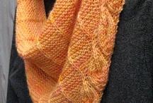 Lenço tricô