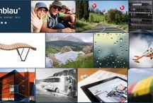 Our Websites / Durchgeführte Projekte von teamblau