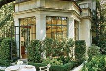 gardens, exteriors...