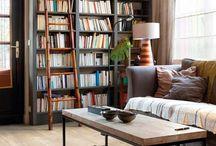 living escritorio sala de lectura