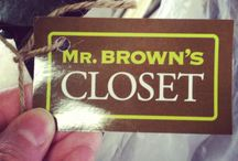 Mr Brown | Closet / by Mr. Brown Home