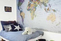 Çocuk Odası Dekorasyonları / İlginç çocuk ve genç odası dekorasyon fikirleri.