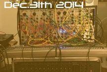 modular synthesizer jam