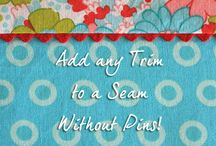 Sewing - Tips