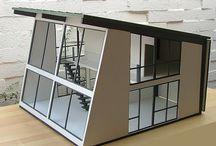 Modern Doll's Houses