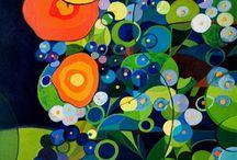 painting - Edyta Rybczyńska by POSITIVE GALLERY / http://blog.positivegallery.pl/