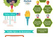 Dietas Olímpicas / Aquí podrás seguir cada plan alimenticios de los participantes de Río de Janeiro