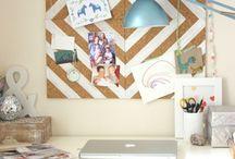 Study/craft room / by Kasey Ledford