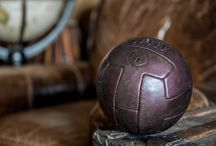 MVP Handmade Leather Soccer Ball / Luxury vintage inspired soccer ball individually hand-crafted using the finest 100% genuine leather by The Modest Vintage Player.