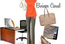 Women's Business Casual Fashion / Some examples of women's business casual outfits and pieces for your next trade show or conference (most events tend towards this style, but always check with organizers to avoid a faux pas).