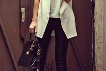 Black and white style / Service co- ordination dress code ideas