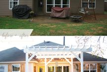 Home Ideas - Outdoor spaces / Places to relax, entertain, and enjoy!
