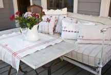 Outdoor Spaces / A collection of spaces to enjoy outside on your porch, back deck anywhere!