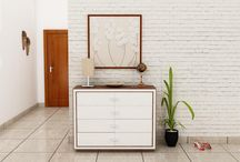 Chest of drawers / Store your daily essentials in style with our chest of drawers that look inordinately urbane.