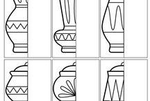 Výtvarka - symetrie