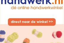 Haak en Brei materialen bestellen / Leuke websites waar men bestellingen kan doen op het gebied van Haken en Breien.