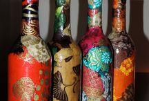 Bottiglie / Decorate