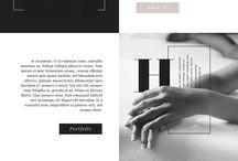 Web design / Web Design | layout | typography | graphics | color palette