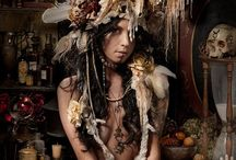 Headdress / Collar / Hat / Crown / Headdress / Feather collar/ Hat / Crown