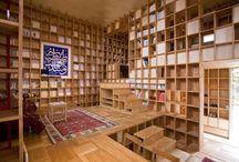 Bookshelves / Cool, Cute or Quirky Bookshelves
