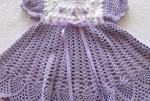little girl crochet dresses