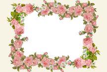 rózsa keret