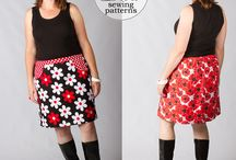 Sewing Patterns I Own - Skirts