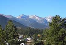 Estes Park, Colorado / A trip to Estes Park, Colorado helped inspire me to write my stories.