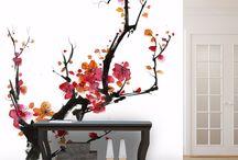 papier peint japonais