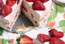 Gyümölcsös torták