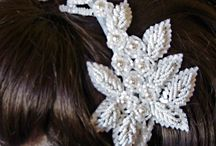 Vintage Bridal Hairpieces / Bridal hairpieces and hats