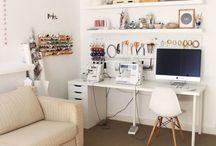 workroom and baby room