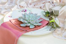 Table Ideas / Ideas for decorating tables at weddings.