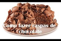 Raspas chocolate