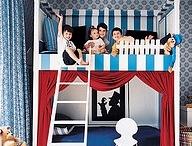 bunk rooms / by Stephanie Homburg