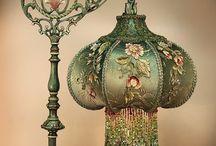 Antique/Vintage lamps