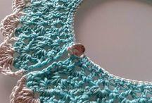 Nuvole d Gomitoli Collars / Colletti realizzati a uncinetto