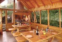 quinchos de madera